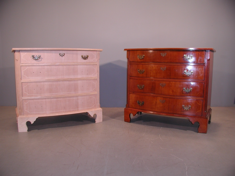 Reproduction dresser for the Emily Dickinson Museum
