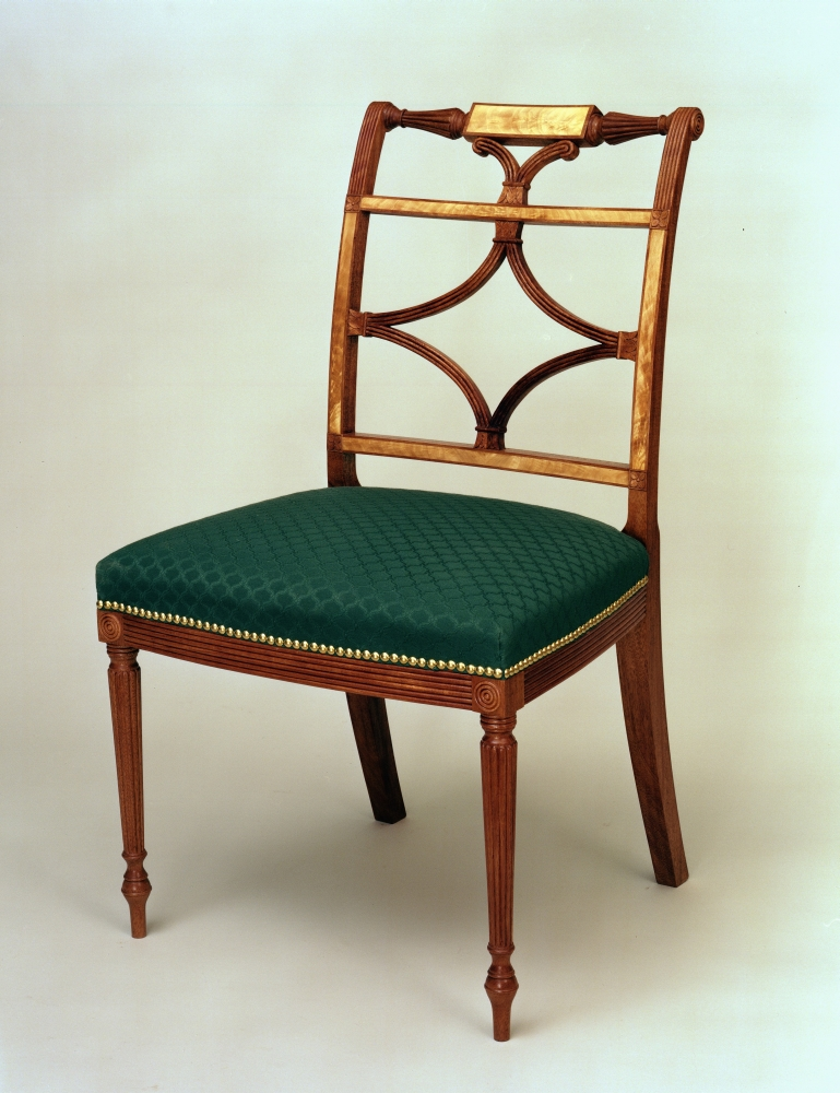 Chair by NBSS student Timm Schleiff (Photo courtesy of North Bennet Street School)