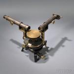 John Browning Brass Spectroscope, 139 Strand, London, 7478 (Lot   318, Estimate $800-$1,200)