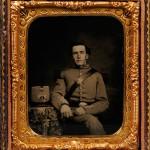 Sixth-plate Ambrotype Portrait of a Soldier in a Militia Uniform   (Lot 5, Estimate $300-$500)