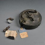 Three Pieces of The USS Maine (Lot 67, Estimate $200-$300)