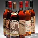 6-bottle horizontal of Van Winkle whiskies (Lot 193, Estimate   $2,500-$4,000)