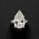 Platinum and Diamond Solitaire (Lot 559, Estimate $70,000-$90,000)