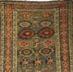 Soumak Long Rug, Northeast Caucasus, mid 19th century (Estimate $2,000-$2,500)