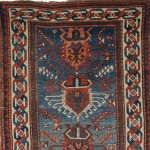 South Caucasian Rug, late 19th century (Estimate $1,200-$1,500)