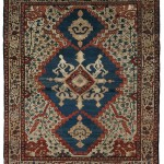 Bakshaish Carpet, Northwest Persia, mid-19th century, 7 ft. 2 in. x 6 ft. 1 in (Estimate $15,000-$18,000)