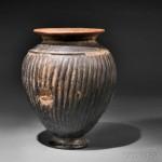 Etruscan Impasto Vase, Italy, c. 600 B.C. (Lot 400, Estimate $2,000-$4,000)