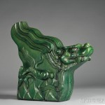 Roof Tile, China, of dragon form (Lot 1000, Estimate $800-$1,200)
