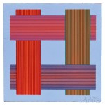 Richard Joseph Anuszkiewicz (American, b. 1930) Untitled (Lot   2, Estimate $300-$500)