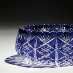 Cobalt Cut-to-clear Glass Bowl, 20th century (Lot 7311,   Estimate $250-$350)