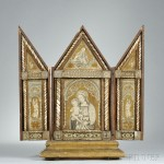 Mother and Child Cased Triptych (Lot 733, Estimate $600-$800)