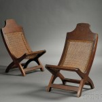 Pair of Hardwood Campeche Chairs (Lot 870, Estimate $400-$600)