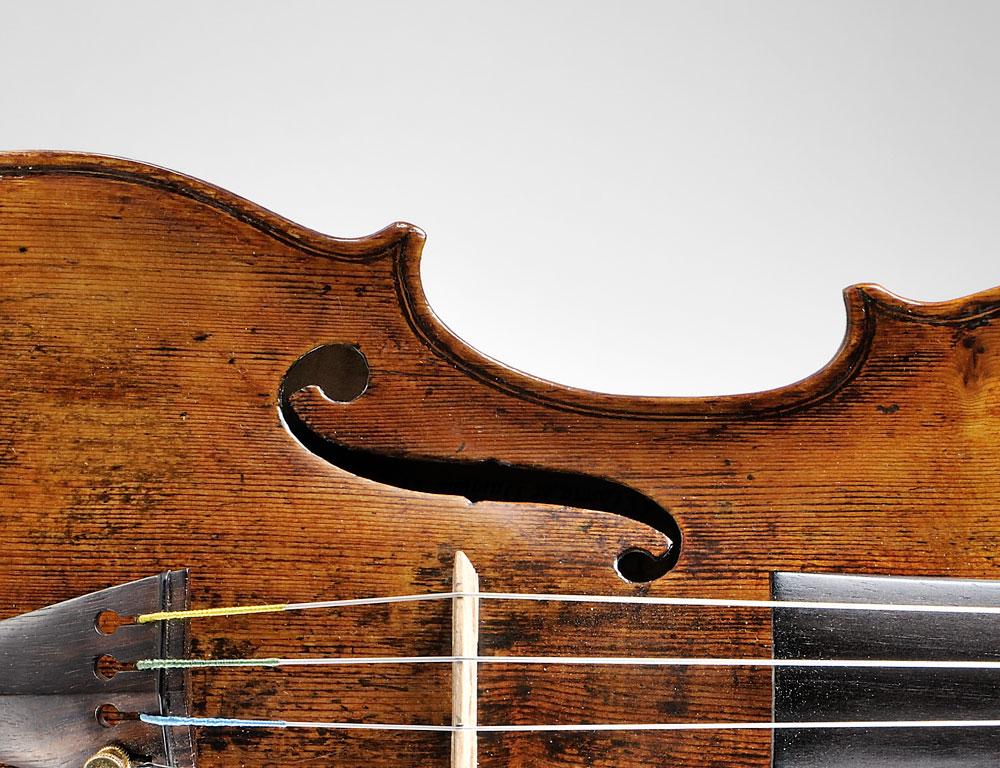 Fine Italian Violin, Dom Nicolaus Amati, Bologna, c. 1740 (Lot 28, Estimate $80,000-$100,000)