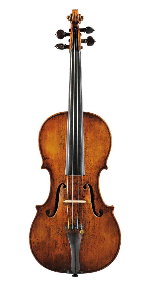 Fine Italian Violin, Dom Nicolaus Amati, Bologna, c.1740 (Lot 28, Estimate $80,000-$100,000)