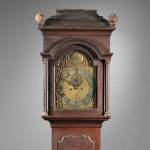 Nathaniel Mulliken Tall Clock, Lexington, Massachusetts, c. 1765 (Lot   469, Estimate $10,000-$15,000)