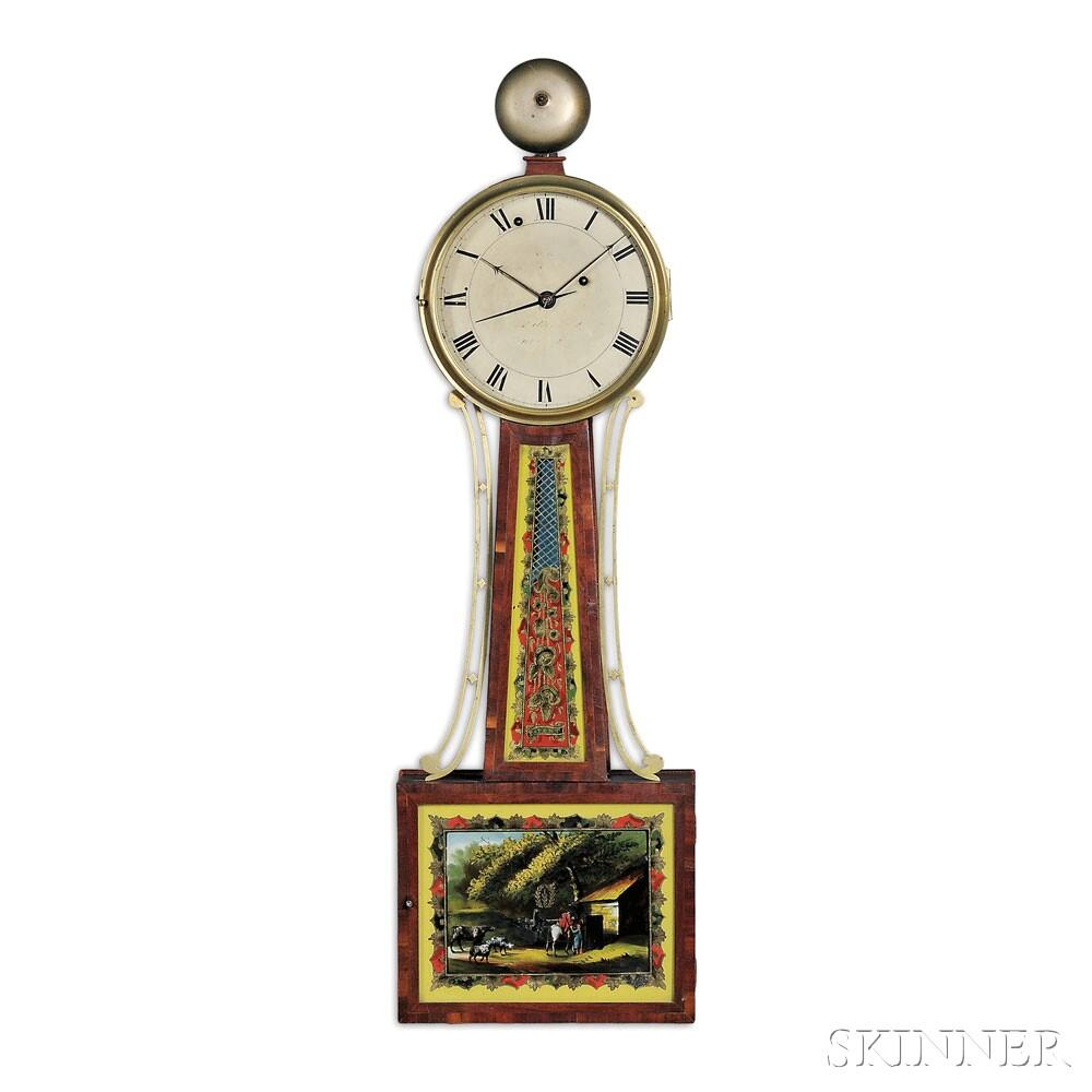 Aaron Willard Jr. Alarm Timepiece, Boston, Massachusetts, c. 1815 (Lot   478, Estimate $7,000-$9,000)