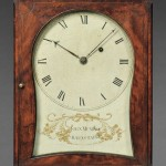 John Munroe Mahogany Shelf Clock, Barnstable, Massachusetts, c. 1800 (Lot   497, Estimate $10,000-$15,000)