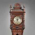 E. Howard & Company No. 80 Renaissance Revival Tall Clock, Boston,   Massachusetts, c. 1890 (Lot 536, Estimate $7,000-$9,000)