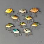 Ten Heddon Punkinseed Fishing Lures (Lot 1207, Estimate $200-$300)