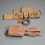 Model 1912 Cavalry Belt and Bucket, c. 1918 (Lot 1069, Estimate $500-$700)