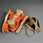 Japanese Admirals Hat, Belt, and Epaulettes, c. early to mid-20th century (Lot   1075, Estimate $600-$800)