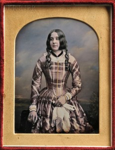William Edward Kilburn (British, 1818-1891) Hand-tinted Quarter-plate Daguerreotype of a Young Woman (Lot 150, Estimate $1,000-$1,500)