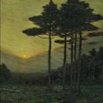 Charles Warren Eaton (American, 1857-1937), The Sunset   Hour (Lot 511, Estimate $12,000-$18,000)