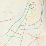 Joan Miró (Spanish, 1893-1983), Sans Titre, 1958 (Lot   610, Estimate $12,000-$18,000)