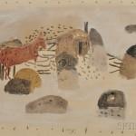 Zoran Antonio Music (Italian, 1909-2005), Cavallos, 1953   (Lot 616, Estimate $10,000-$15,000)