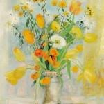 Le Pho (Vietnamese, 1907-2001), Fleurs (Lot 622,   Estimate $18,000-$22,000