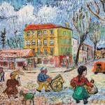 David Davidovich Burliuk (Ukranian, 1882-1967), House of   Van Gogh (Lot 624, Estimate $15,000-$20,000)