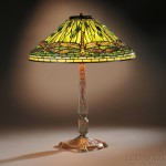 Tiffany Studios Dragonfly Table Lamp, New York, c. 1910 (Lot 189, Estimate   $60,000-$80,000)