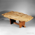 Mira Nakashima Minugren Dining Table (Lot 343, Estimate $35,000-$45,000)