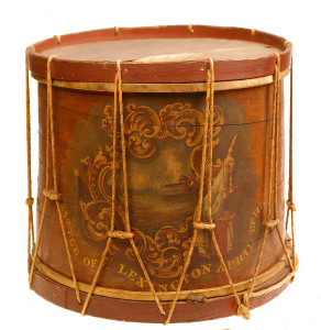 William Diamond's Drum, Boston, 1774-5. Courtesy of The Lexington Historical Society. Photo by David Bohl.