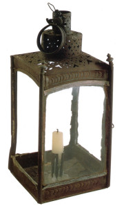 Lantern, Boston, about 1775. Courtesy of the Concord Museum