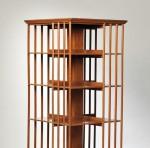 Walnut Four-tier Revolving Bookcase, 20th century (Lot 57, Estimate $300-  $500)