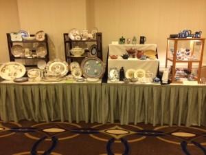 Wedgwood on display at the Wedgwood International Seminar in Alexandria, VA