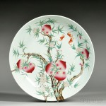Porcelain Charger, China (Lot 115, Estimate $800-$1,200)