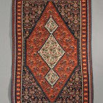 Senneh Kelim, Northwest Persia, early 20th century (Lot 186, Estimate $300-$400)
