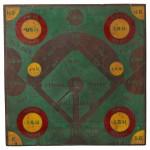 Painted Wood Baseball Diamond Dart Board, America, early 20th   century (Lot 790, Estimate $400-$600)
