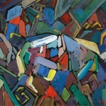 Leighton R. Cram (1895-1981) Untitled Abstraction. (Lot   1125, Estimate $250-$300)