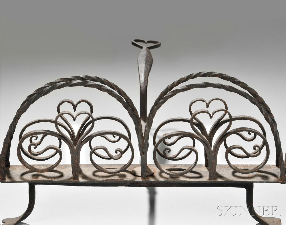 Wrought Iron Rotary Toaster, late 18thearly 19th century (Lot 37, Estimate $2,500 - $3,500)