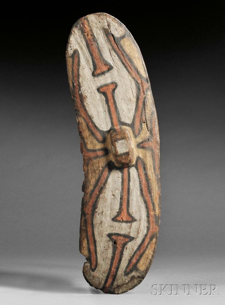Aboriginal Rainforest Shield, northern Queensland (Lot 93, Estimate $10,000-$15,000)
