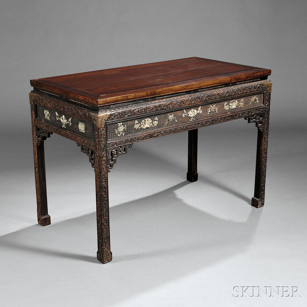 Hongmu Altar Table, China, Qing dynasty (Lot 165, Estimate $8,000-$10,000)