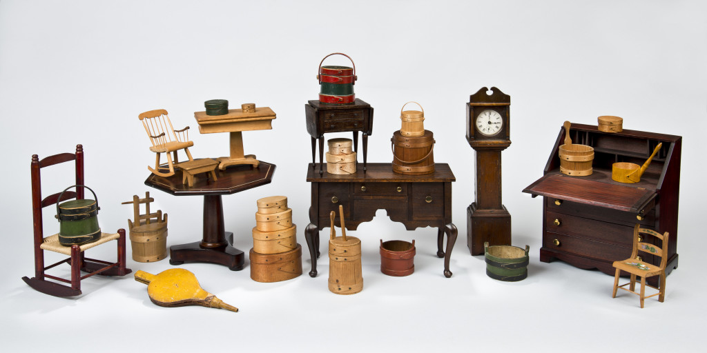Assorted Hingham toys by nine different makers, 1820-1920. Courtesy of the Hersey family, David A. Schorsch, Hingham Historical Society, and Peter and Diana Bennett.