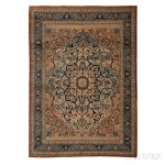 Haji-Jalili Tabriz Carpet, Northwest Persia, last quarter 19th century (Lot 134, Estimate $6,000-$8,000)