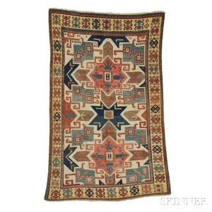 'Star' Kazak Rug, Southwest Caucasus, third quarter 19th century (Lot 141, Estimate $30,000-$35,000)