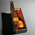 Veuve Clicquot Ponsardin Champagne Vintage Rose Cave Privee 1989 (Lot 651, Estimate $150-$225)