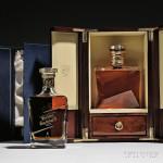 Johnnie Walker Blue Label King George V edition and The John Walker (Lot 728, Estimate $1,500-$2,000)