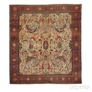 Antique Fereghan Sarouk Carpet, West Persia, third quarter 19th century (Lot 132, Estimate $20,000-$25,000)
